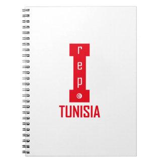 tunisia design spiral notebook