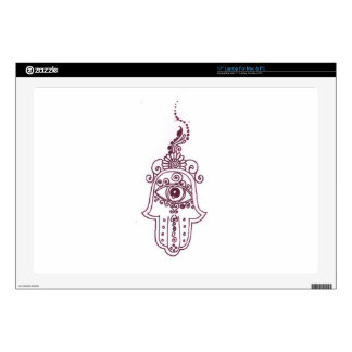 tunisia evil eye henna decals for laptops