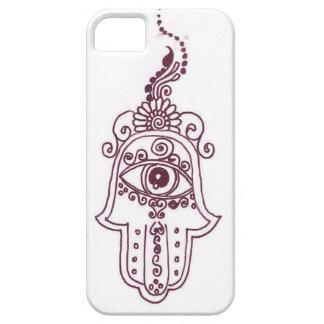 tunisia evil eye henna iPhone SE/5/5s case