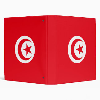 Tunisia Flag Avery Binder