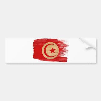 Tunisia Flag Bumper Sticker
