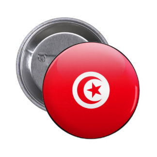 Tunisia Flag Pinback Buttons