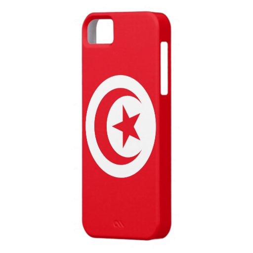 Tunisia Flag iPhone 5 Cases