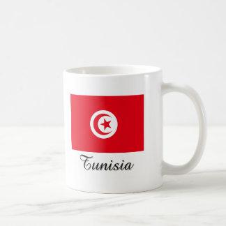 Tunisia Flag Design Coffee Mug
