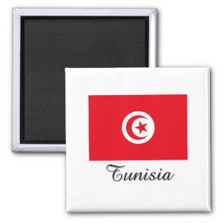 Tunisia Flag Design Magnets