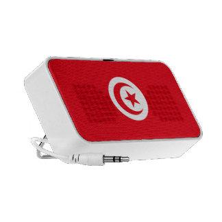 Tunisia Flag Doodle Mini Speaker