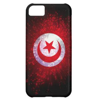 Tunisia Flag Firework iPhone 5C Cases