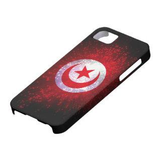 Tunisia Flag Firework iPhone SE/5/5s Case