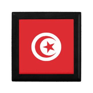 Tunisia Flag Jewelry Box