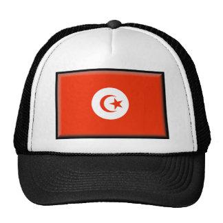 Tunisia Flag Mesh Hats