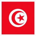 Tunisia Flag Invitation