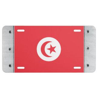 Tunisia Flag License Plate