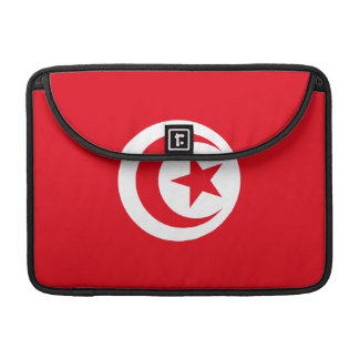 Tunisia Flag Macbook Pro MacBook Pro Sleeve