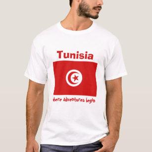 Tunisia text T-Shirt