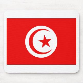 Tunisia Flag Mouse Pad