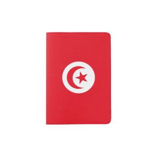 Tunisia Flag Passport Holder