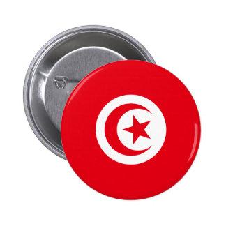Tunisia Flag Pinback Button