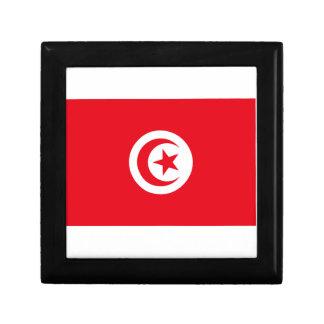 Tunisia Flag Trinket Box