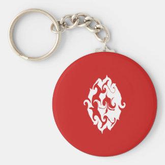 Tunisia Gnarly Flag Keychain