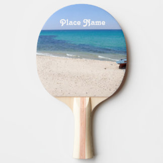 Tunisia Ping Pong Paddle