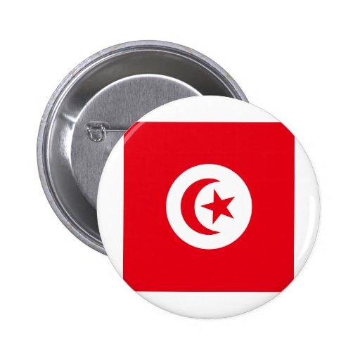 Tunisia High quality Flag Button