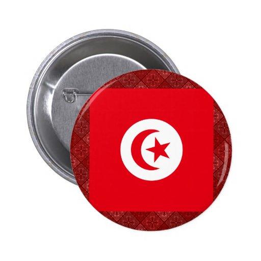 Tunisia High quality Flag Buttons