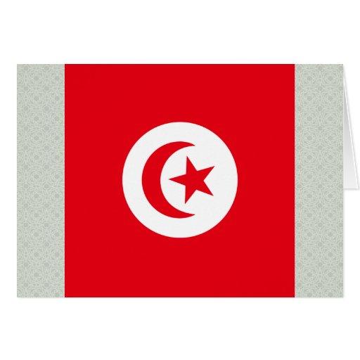 Tunisia High quality Flag Card