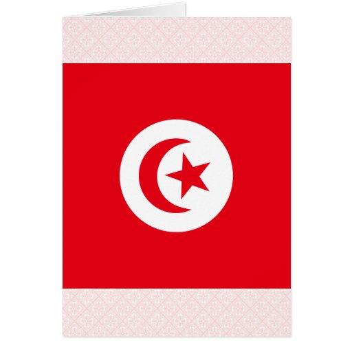 Tunisia High quality Flag Cards