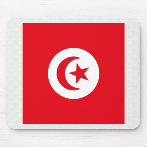 Tunisia High quality Flag Mouse Pads