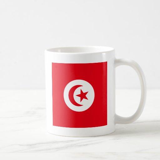 Tunisia High quality Flag Coffee Mugs