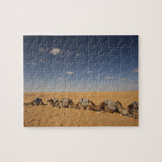 Tunisia, Ksour Area, Ksar Ghilane, Grand Erg 2 Jigsaw Puzzle