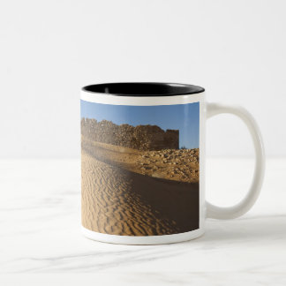 Tunisia, Ksour Area, Ksar Ghilane, Grand Erg 2 Two-Tone Coffee Mug