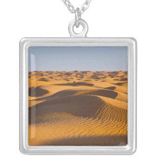 Tunisia, Ksour Area, Ksar Ghilane, Grand Erg 4 Silver Plated Necklace