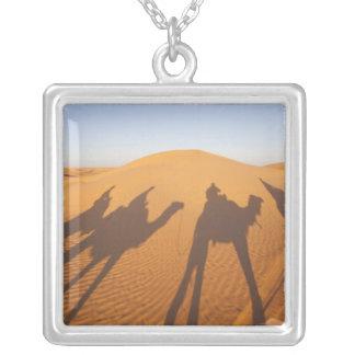 Tunisia, Ksour Area, Ksar Ghilane, Grand Erg 5 Silver Plated Necklace