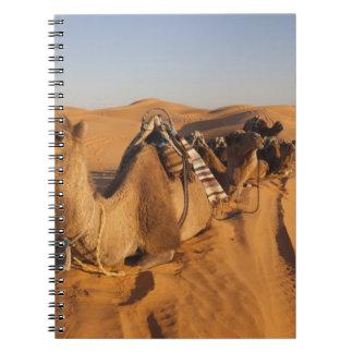Tunisia, Ksour Area, Ksar Ghilane, Grand Erg 5 Spiral Notebook