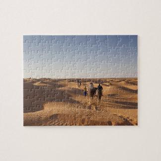 Tunisia, Ksour Area, Ksar Ghilane, Grand Erg 7 Jigsaw Puzzle
