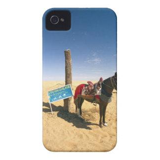 Tunisia, Ksour Area, Ksar Ghilane, horse in the iPhone 4 Cover