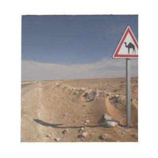 Tunisia, Ksour Area, Ksar Ghilane, Oil Pipeline Notepad