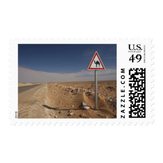 Tunisia, Ksour Area, Ksar Ghilane, Oil Pipeline Postage