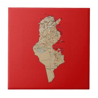 Tunisia Map Tile