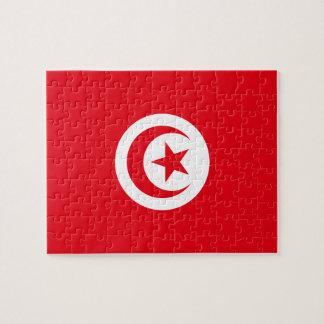 Tunisia National World Flag Jigsaw Puzzle
