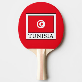 Tunisia Ping-Pong Paddle