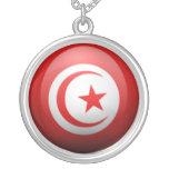Tunisia Round Pendant Necklace