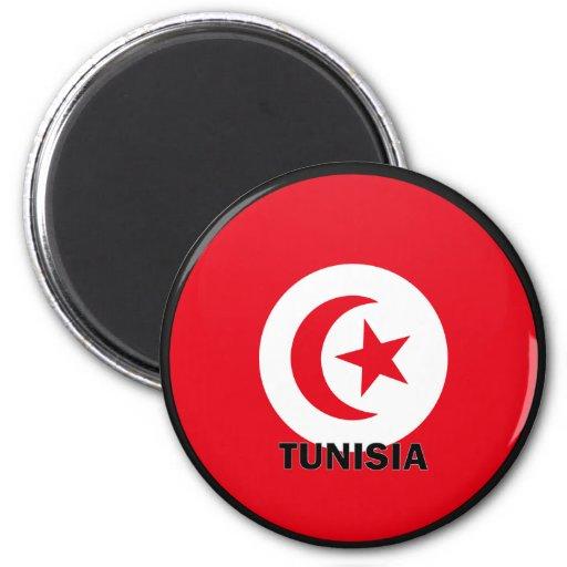Tunisia Roundel quality Flag Fridge Magnet