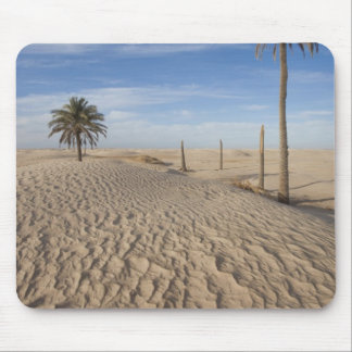 Tunisia, Sahara Desert, Douz, Great Dune, dawn Mouse Pad
