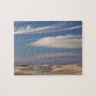 Tunisia, Sahara Desert, Douz, Great Dune, dusk 2 Jigsaw Puzzle