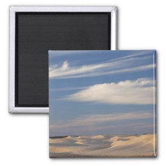 Tunisia, Sahara Desert, Douz, Great Dune, dusk 2 Refrigerator Magnets
