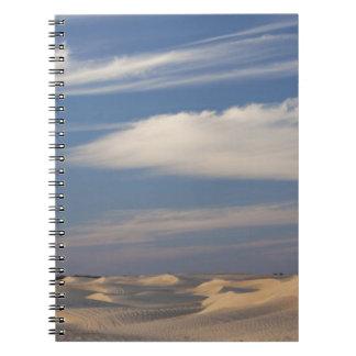 Tunisia, Sahara Desert, Douz, Great Dune, dusk 2 Notebooks