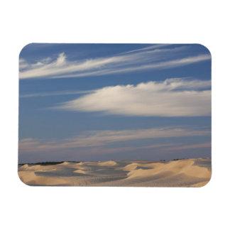 Tunisia, Sahara Desert, Douz, Great Dune, dusk 2 Rectangular Magnets