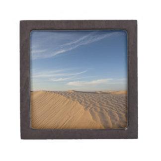 Tunisia Sahara Desert Douz Great Dune dusk Premium Keepsake Boxes